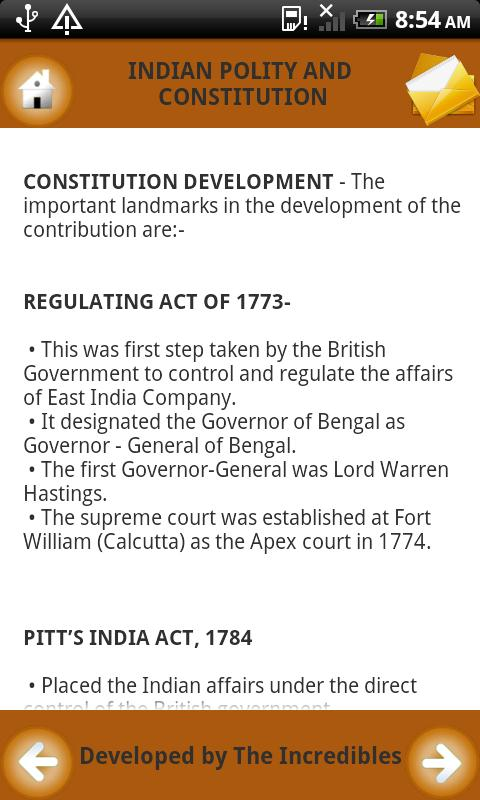 Notes on Constitution of India - screenshot