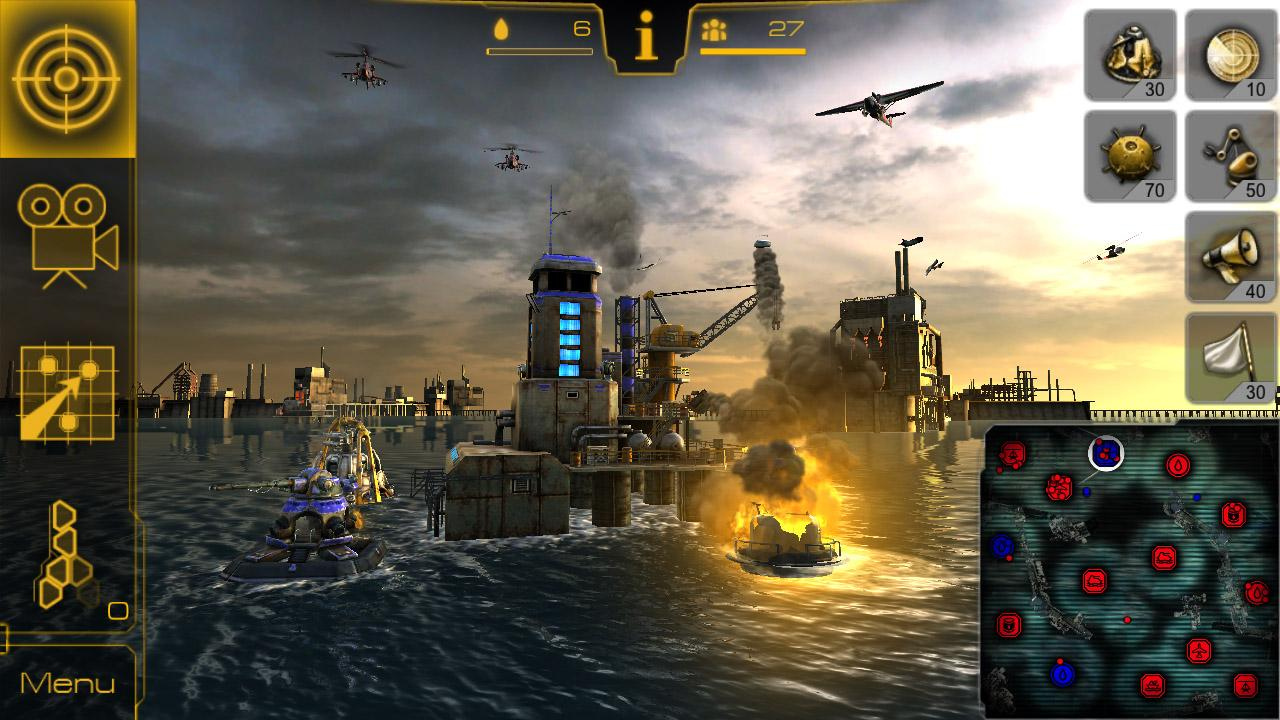 Oil Rush: 3D naval strategy image #1