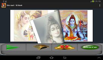 Screenshot of Shiv Aarti : 3D Book
