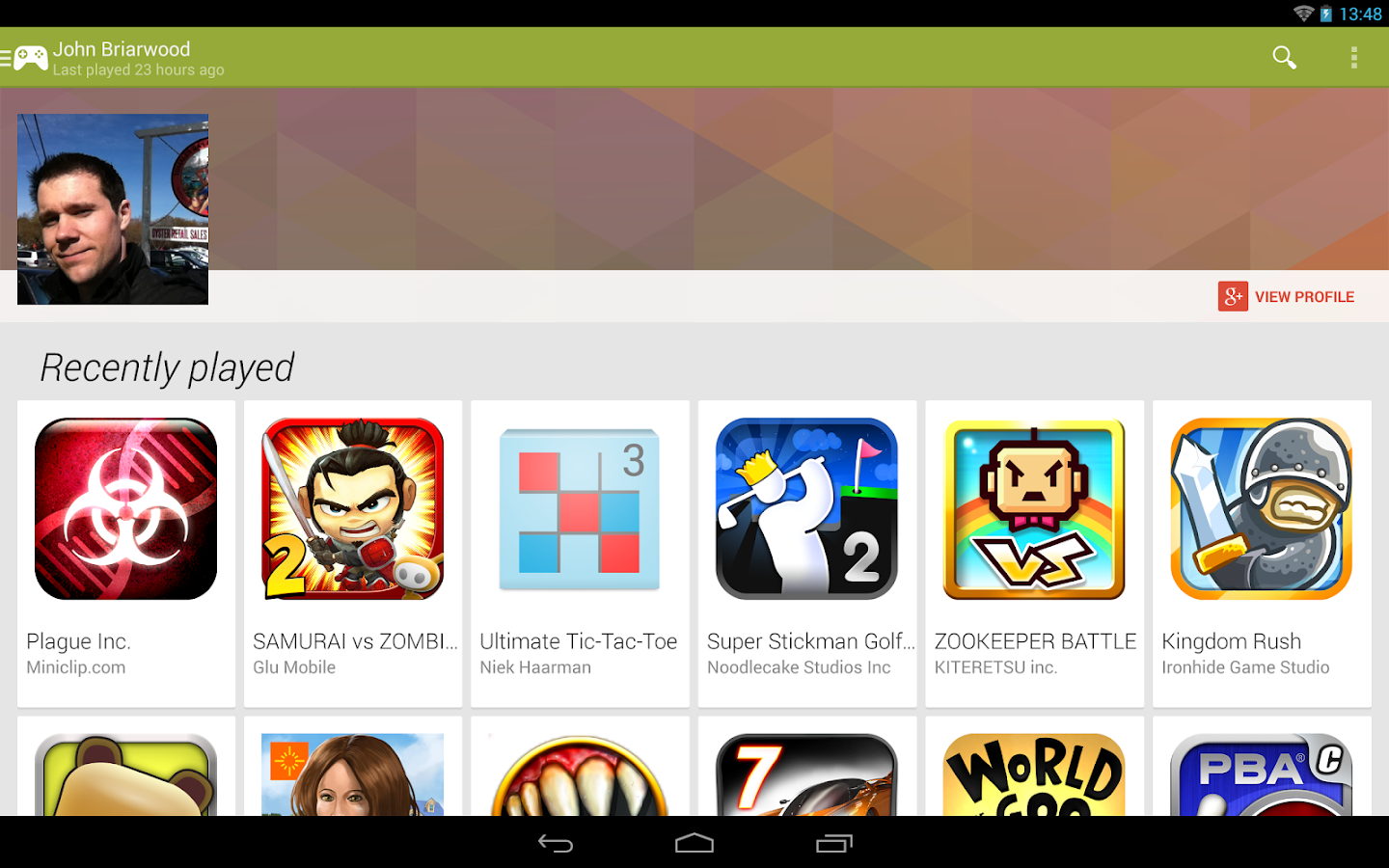 good google play games