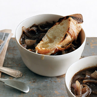 French Red Onion Soup.