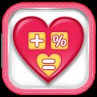 Liebesrechner-Paar Test icon