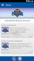 Screenshot of Lewisburg Middle School