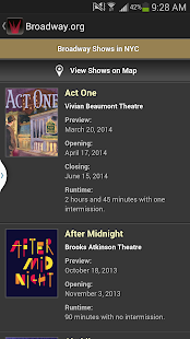 Broadway.org - screenshot thumbnail