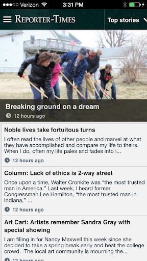Reporter Times news