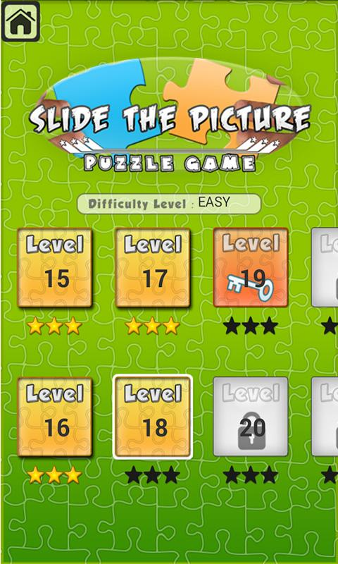 Slide The Picture (Puzzle)- screenshot