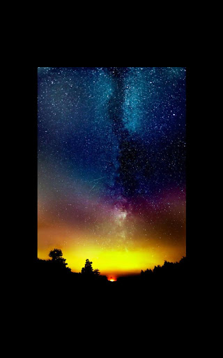 Galaxy Flare Live Wallpaper