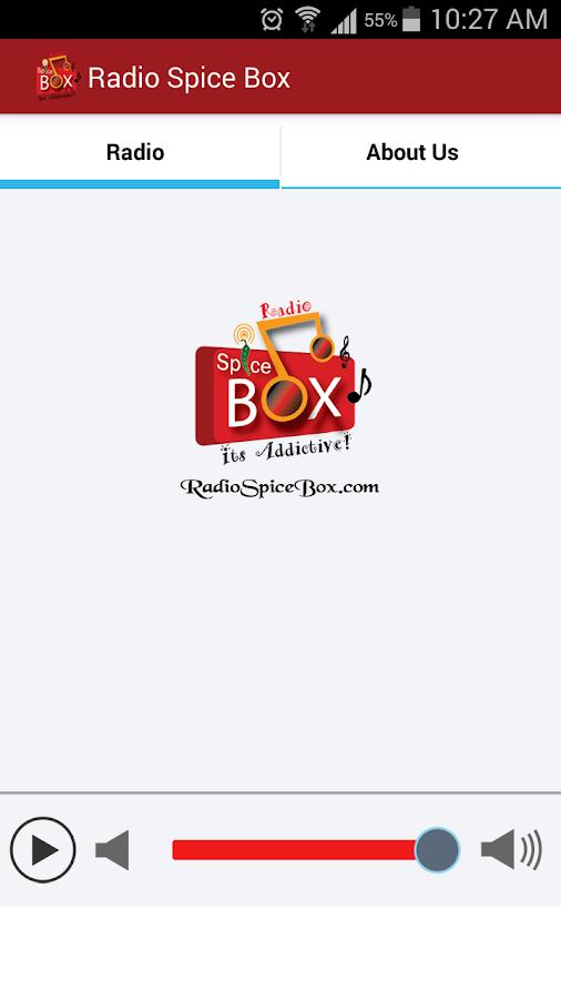 Radio Spice Box - screenshot