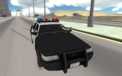 Fast Police Car Driving 3D - screenshot thumbnail