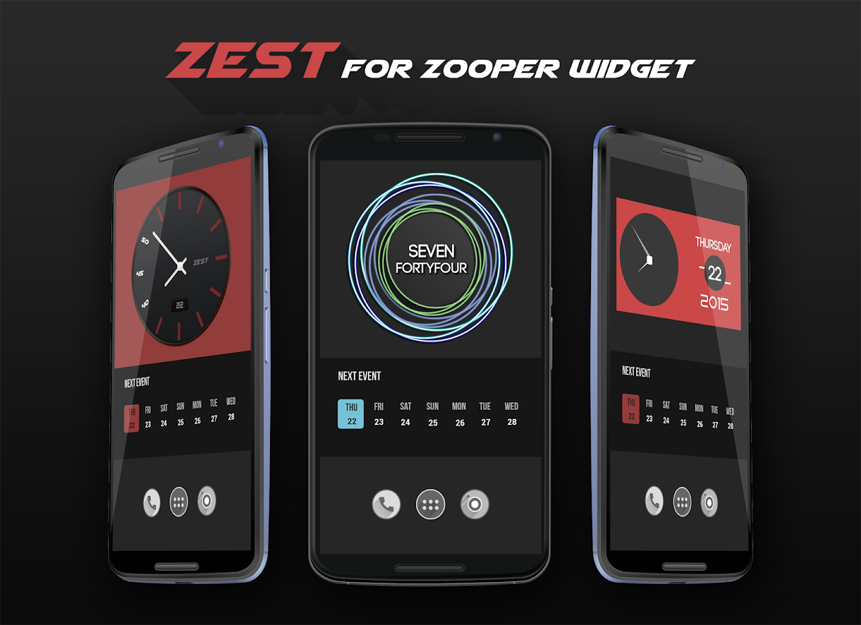 Web Home For Zooper Widget – Fondos de Pantalla