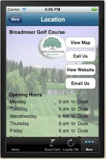 BroadMoor Golf Course - screenshot thumbnail