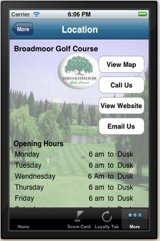 BroadMoor Golf Course - screenshot