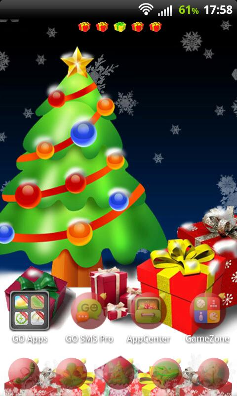 GO Launcher EX Christmas Tree - screenshot