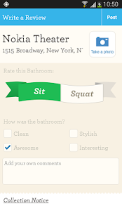 SitOrSquat: Restroom Finder - screenshot thumbnail