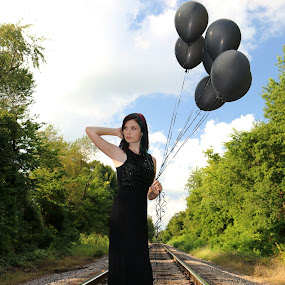 On the Tracks 2 by Kenny Fendler - People Portraits of Women (  )