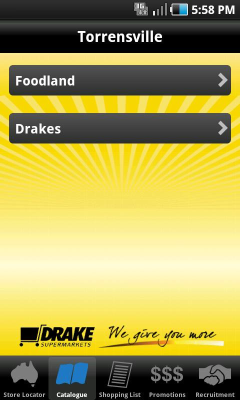 Drakes- screenshot