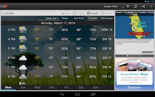 WeatherBug Screenshot 29