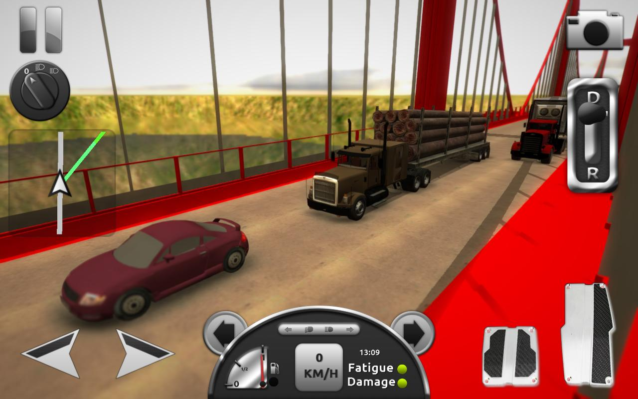 Truck Simulator 3D- screenshot