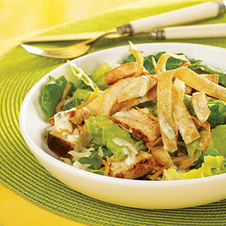 Caribbean Grilled Chicken Salad with Honey-Lime Dressing.