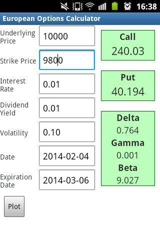 Options trading cost calculator