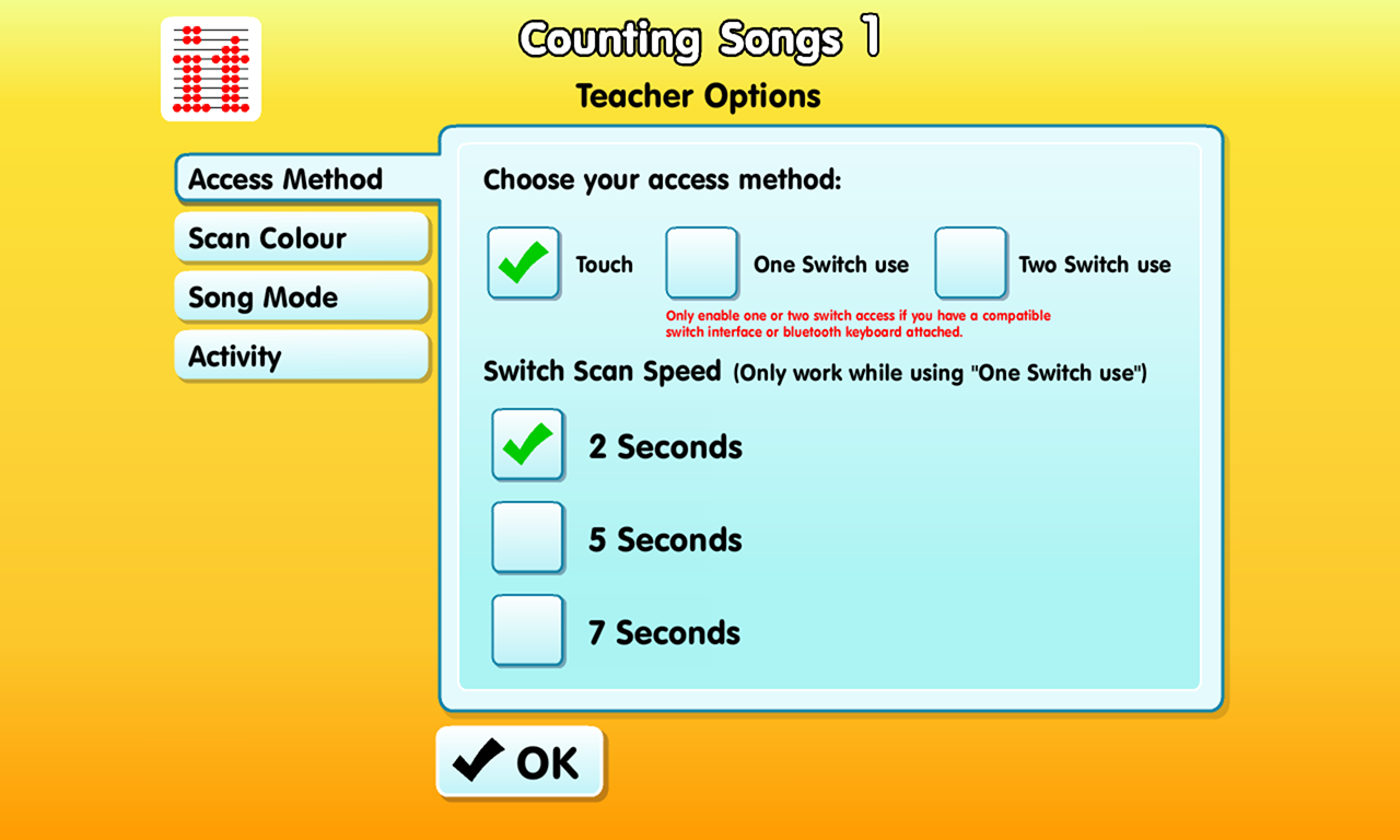 Counting Songs 1- screenshot