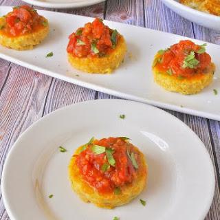 Polenta Bites With Tomato Chutney