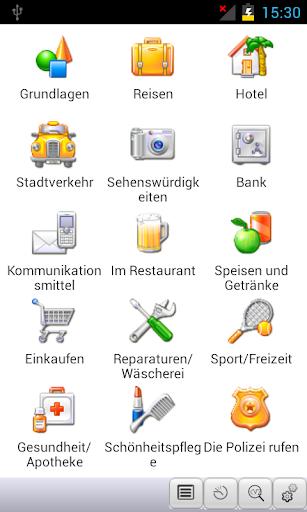 GermanThai Phrasebook