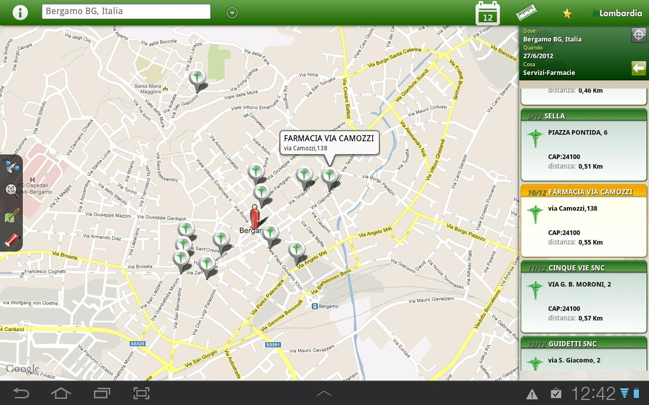 inLombardia- screenshot