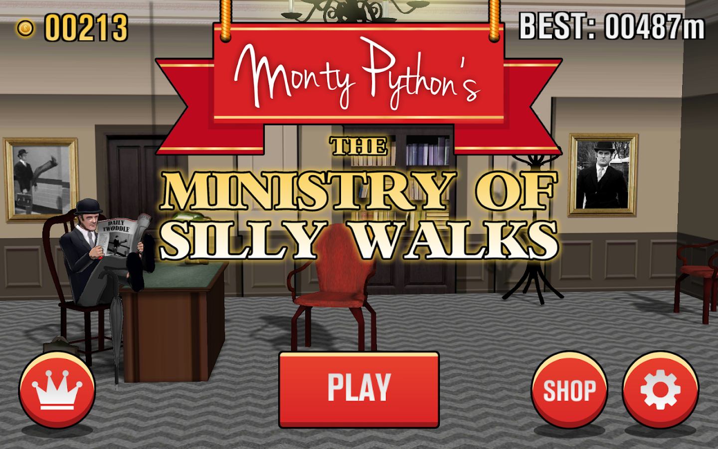 The Ministry of Silly Walks - screenshot