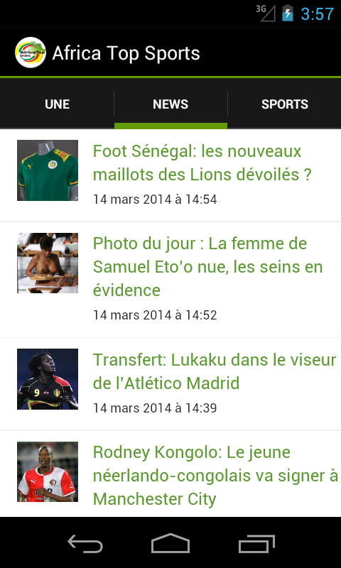 Africa Top Sports- screenshot