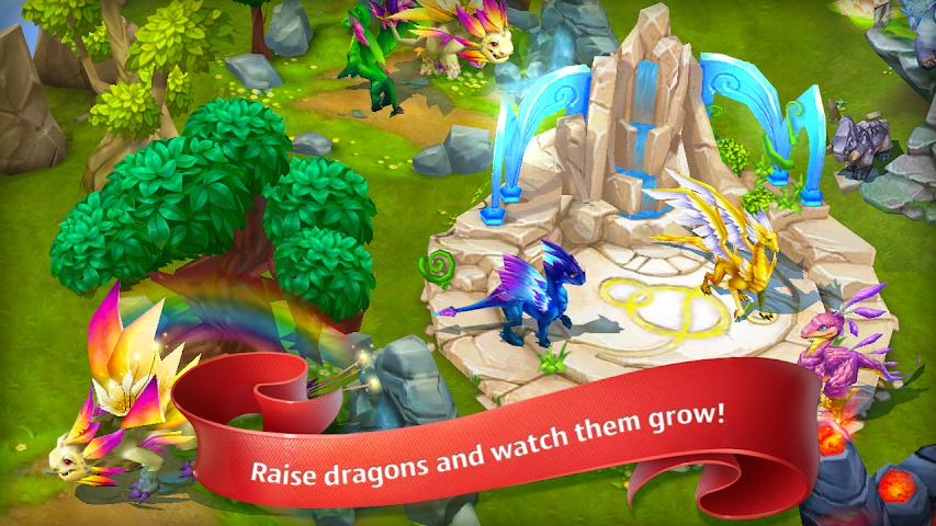 android Dragons World Screenshot 4