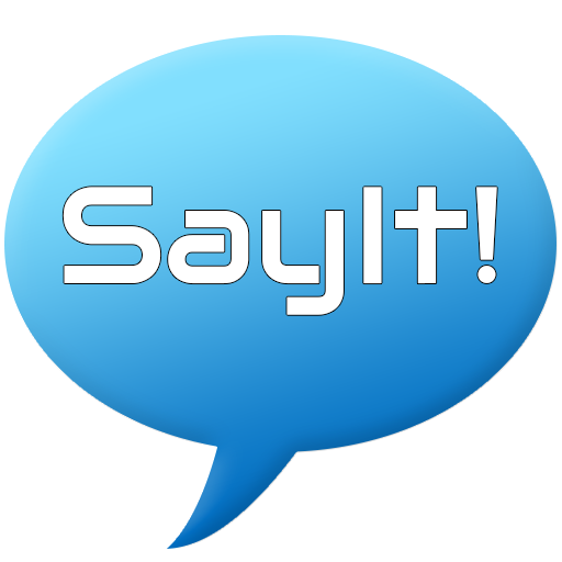 Say It! - Let Your Phone Speak LOGO-APP點子