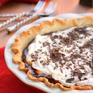 Chocolate Cream Brownie Pie