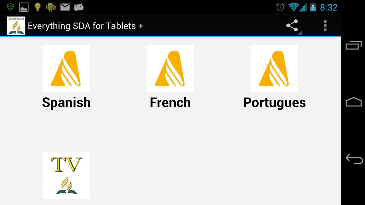 Everything SDA for Tablets + - screenshot