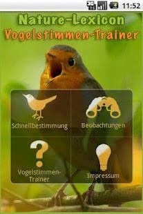 Vogelstimmen-Trainer 2.0.1- screenshot thumbnail