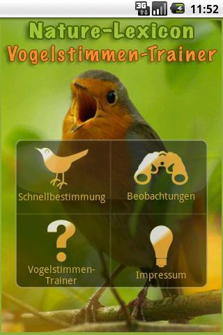 Vogelstimmen-Trainer 2.0.1- screenshot