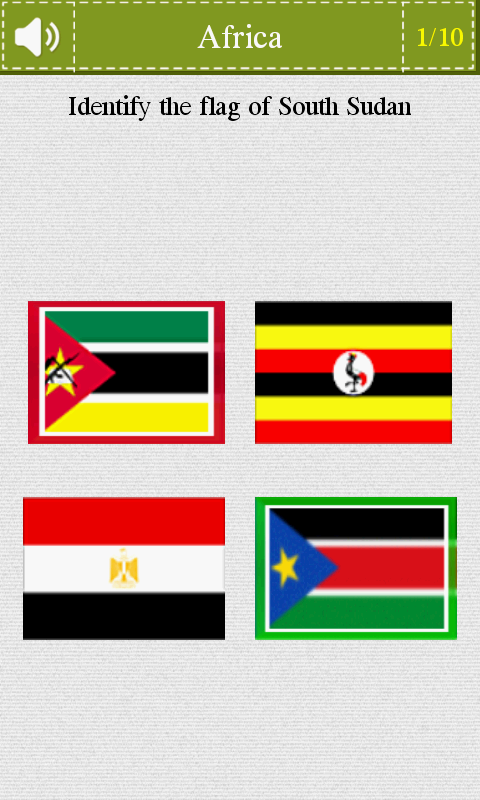 Flags Quiz - screenshot
