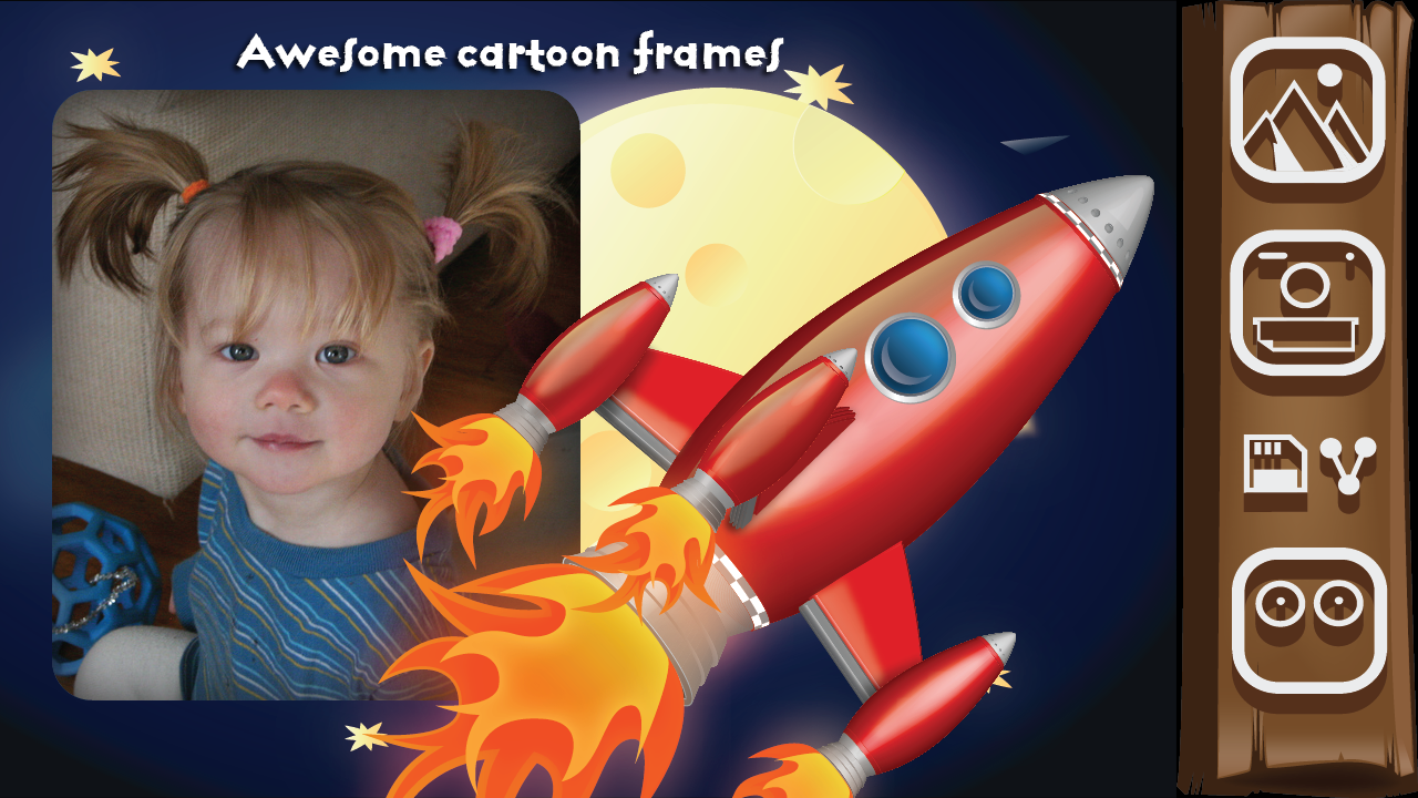 Foto Kartun Frame Apl Android Di Google Play