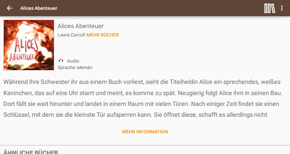 Bücher auf Deutsch- screenshot thumbnail