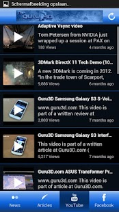 Guru3D.com App- screenshot thumbnail