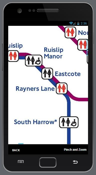 London Tube Rail Bus Maps - screenshot