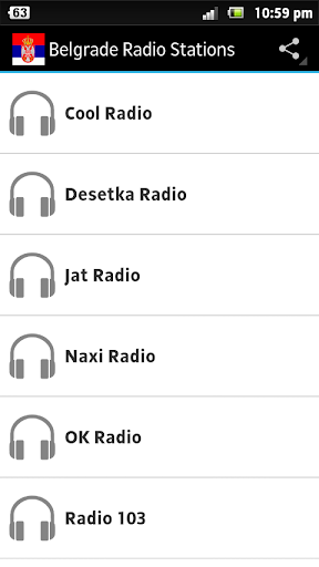 Belgrade Radio Stations