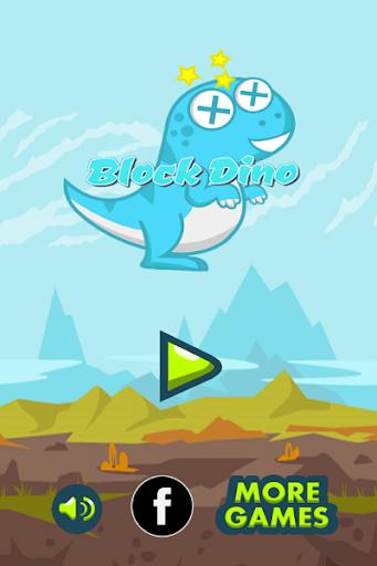 Block Dino Stick Game