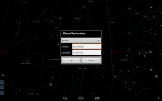 Screenshot of Star finder