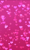 Screenshot of Heart Live Wallpaper Trial