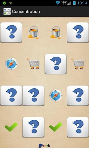 解謎必備APP下載 Concentration - Memory Game 好玩app不花錢 綠色工廠好玩App