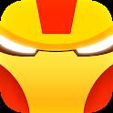 Superhero logo quiz icon