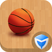 Privacy Lock Basketball Theme