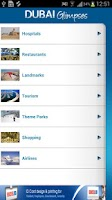 Screenshot of Dubai Visitor Tourist Guide