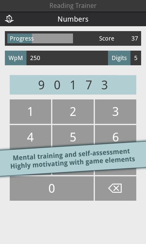 Reading Trainer screenshot #5